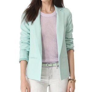 New Club Monaco Karina blazer wool blend zippers